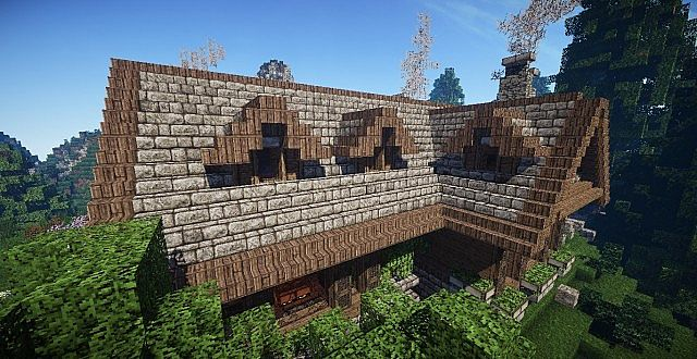 Cosy Rustic Villa  Minecraft House Design
