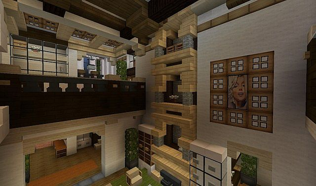 Minecraft Home Interior Ideas