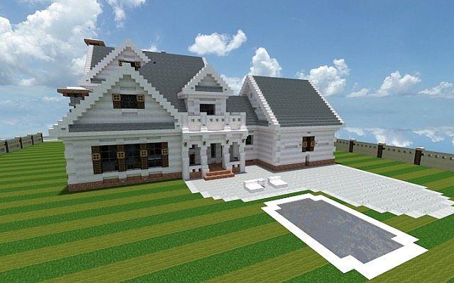 Georgian Home – Minecraft House Design