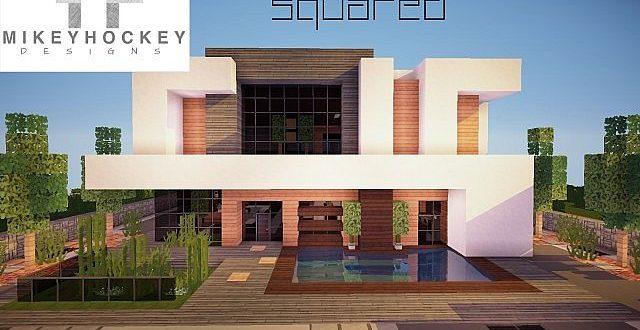 Squared Modern Home – Minecraft House Design