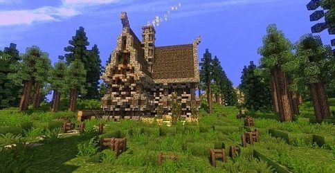 medieval minecraft building designs scary terrain custom minecrafthousedesign october