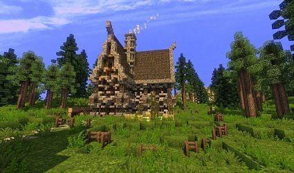 medieval custom terrain scary minecraft schematic building