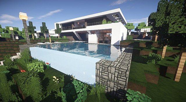 Aspire  Modern Beach House 2  Minecraft House Design