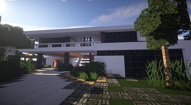 Aspire Modern Beach House 2 – Minecraft House Design