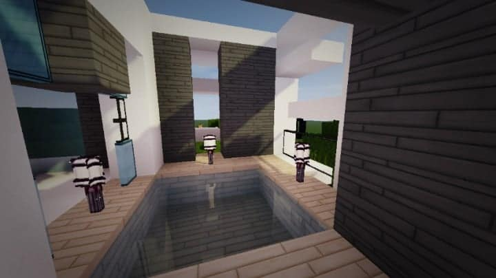 Themodern Pvper S Modern House Minecraft House Design