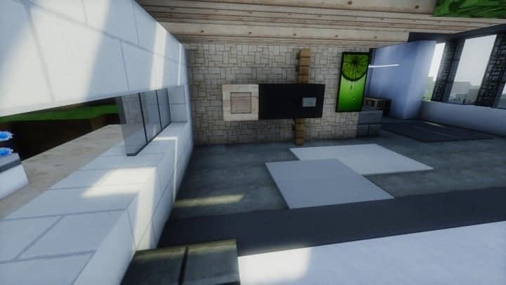 Skye Contemporary Residence Minecraft House Design