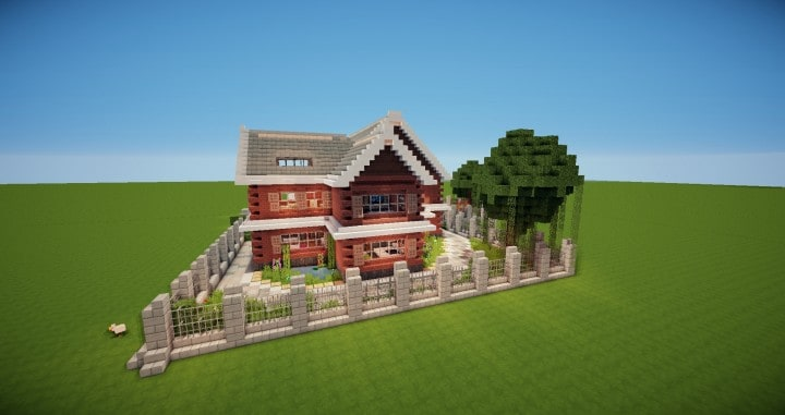 Traditional House – Minecraft House Design