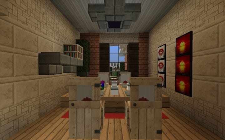 Large Suburban House Minecraft House Design