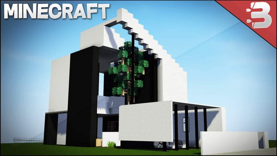 Minecraft: Modern House / Best Small Modern House 2016 ...