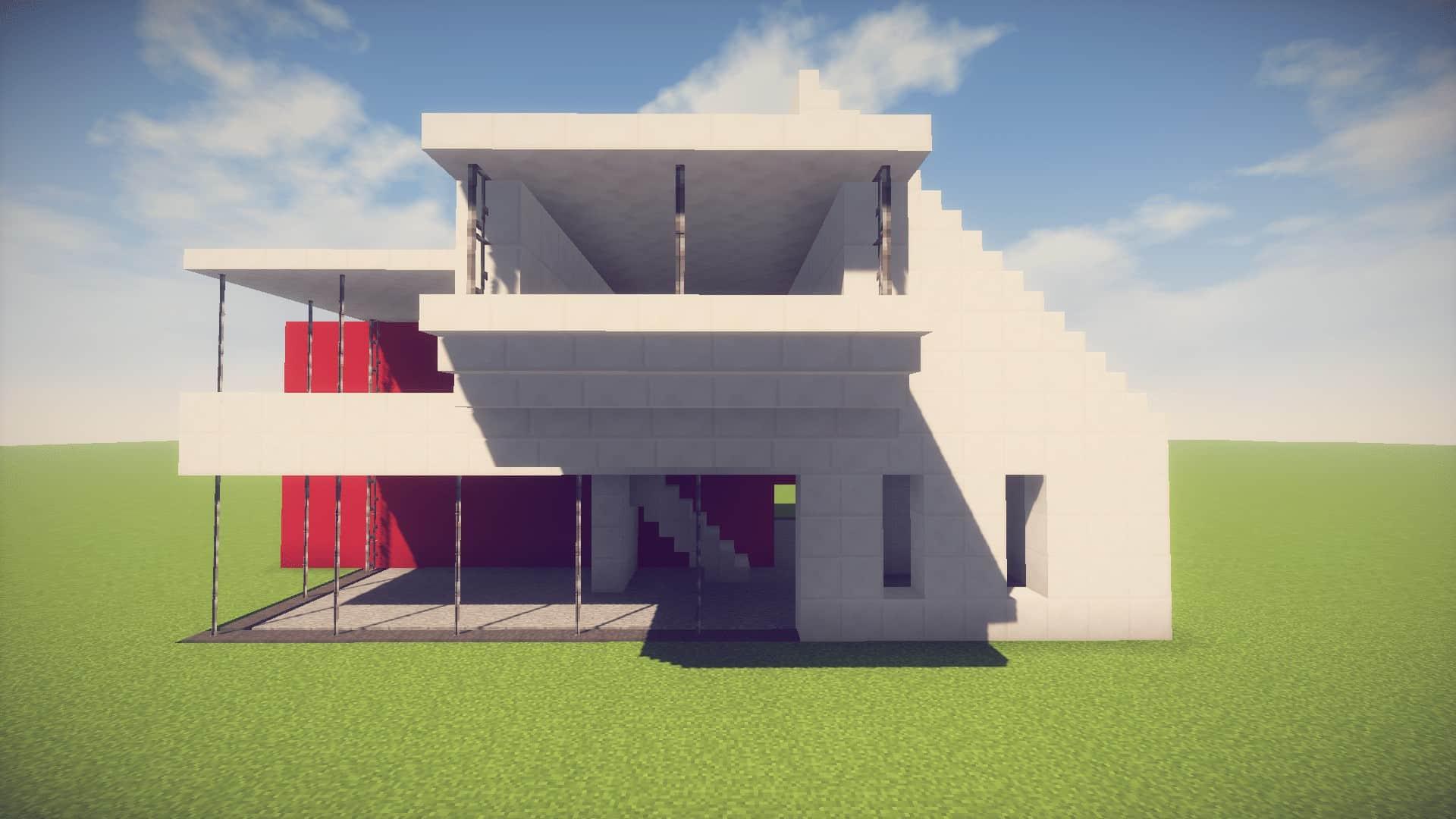 Minecraft: Simple/Easy Modern House  Easy Minecraft House