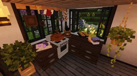 Three Cottages World Minecraft House Design