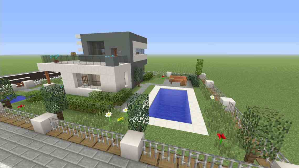 Minecraft: How to make a modern 12 x 12 house xbox one ...