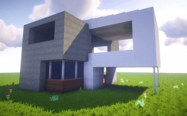 Simple Modern Minecraft Houses Easy
