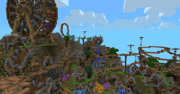 Steampunk Rollercoaster Minecraft PE Map Minecraft Hub