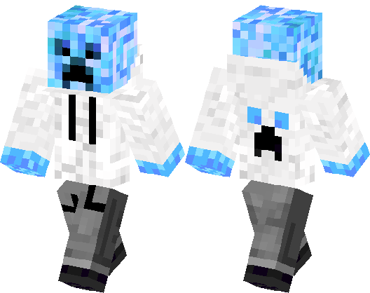 Cool Creeper Minecraft Skin Minecraft Hub