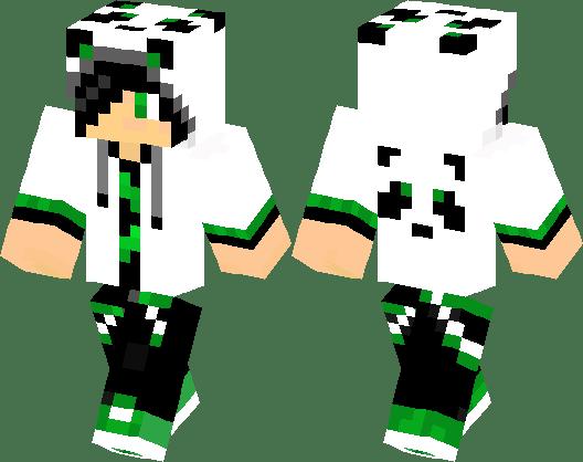 скины майнкрафт панда #8