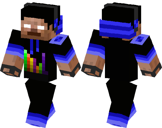 Cool Herobrine Minecraft Skin Minecraft Hub