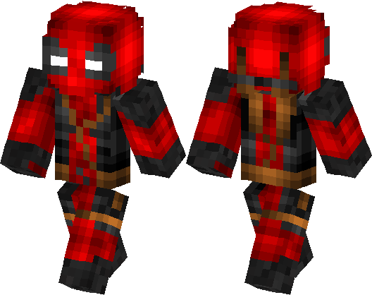 Deadpool Skin Minecraft Skin Minecraft Hub