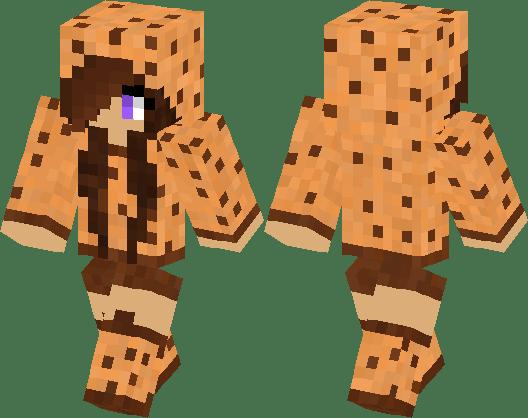 Cookie Girl Minecraft Skin Minecraft Hub