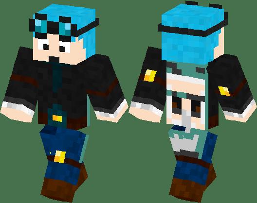 DANTDM SKIN With Cape Minecraft Skin Minecraft Hub