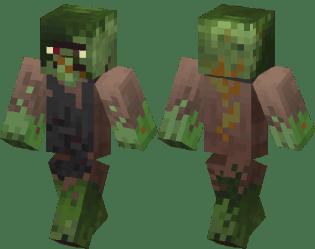 Blacksmith Zombie Villager Minecraft Skin Minecraft Hub