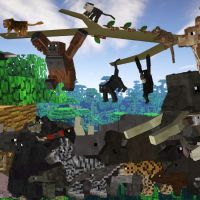 Mo' Creatures Mod 1.15.1/1.14.4/1.13.2/1.12.2 (Add Beautiful Mobs, Animals)