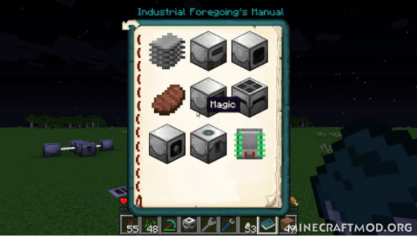 Industrial Foregoing Mod 1.13.1/1.13/1.12.2 for Minecraft ...