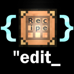 JSON Recipe Edit Mod