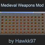 Medieval Weapons and Tools Mod Mod
