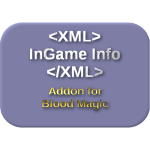 InGame Info XML Addon - Blood Magic Mod