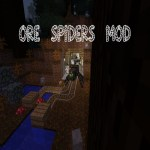 Ore Spiders Mod