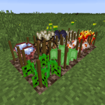 AgriCraft Mob Drop Crops Mod