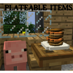 Plateable Items Mod (Forge) (1.8) Mod