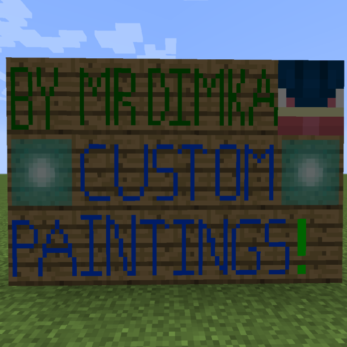 Custom Paintings Mod