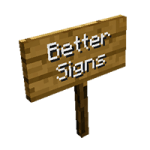 Better Signs Mod Mod