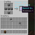 Diamond Ore from Stone Mod