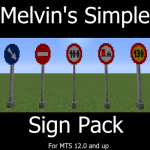 Melvin's Simple Sign pack [MTS] Mod
