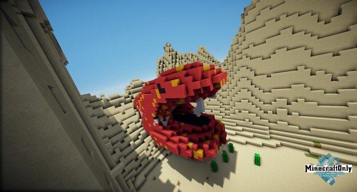 KitPvp Map Download - Desert Castle [map] 1.8+ » MinecraftOnly