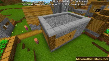 blacksmith minecraft seed pe village flat villages seeds mods