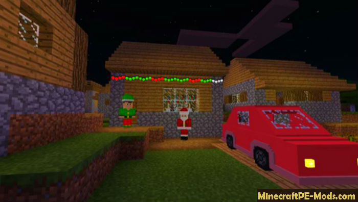 Christmas Decorations Minecraft Pe Mod 1 16 1 14 Ios Android Download