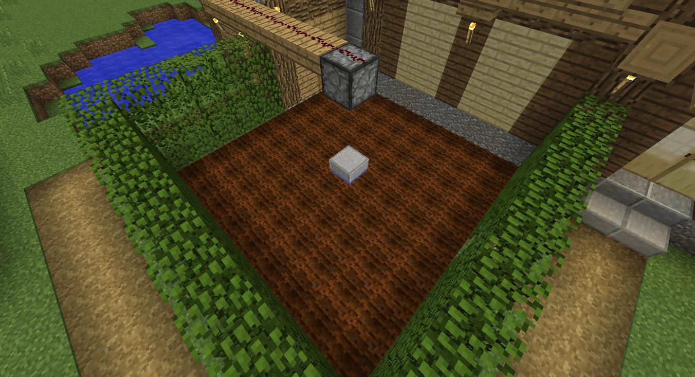 Minecraft Monostable Circuit