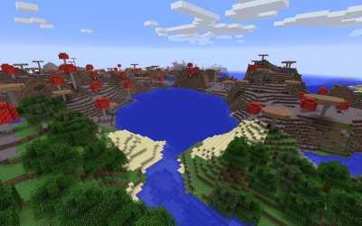 Minecraft Mushroom Island Seeds Minecraft Seed HQ