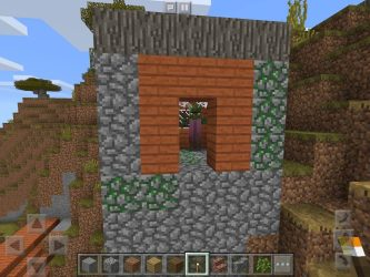 village zombie minecraft seed acacia npc zombies mcpe villager savanna pe takeover building