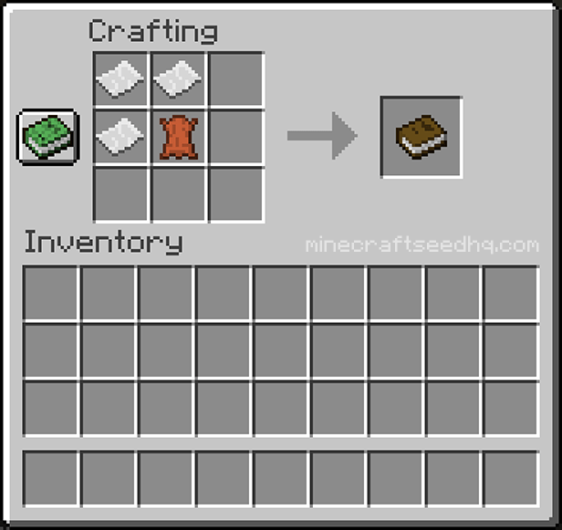 Minecraft Book Recipe And Crafting Tutorial Minecraft Seed Hq