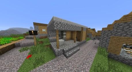 blacksmith village minecraft npc villages seed seeds pc