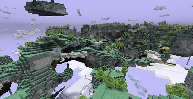 Aether 2 Mod for Minecraf