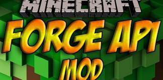 Minecraft Forge API minecraft 1.8-1.7.10