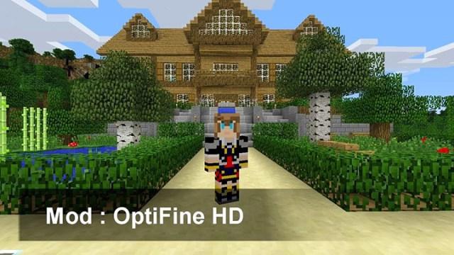 Optifine HD Mod for Minecraft 1.8 2