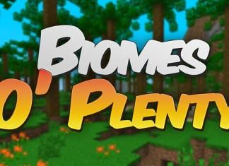 Biomes O Plenty Mod