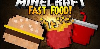 Fast Food Mod for Minecraft 1.8